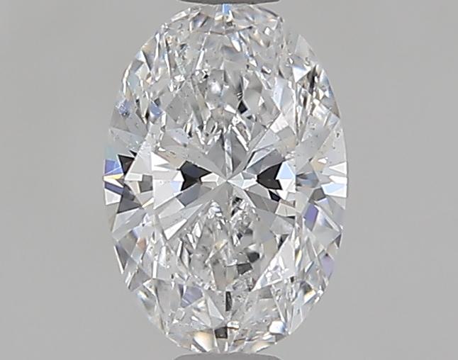 0.50 ct Oval Diamond : D / SI2