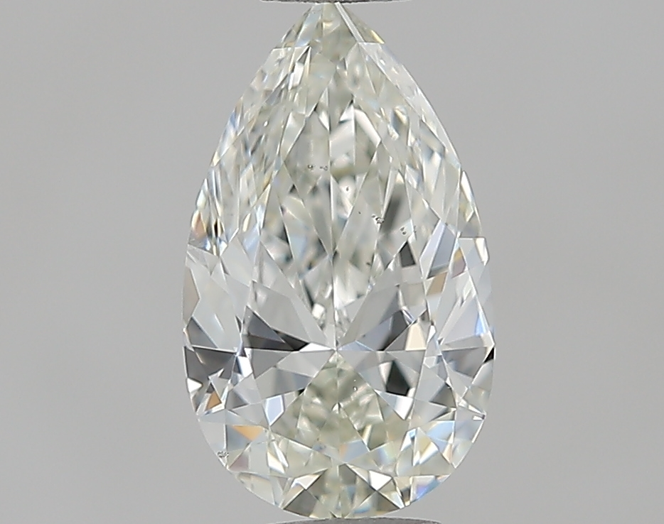 0.90 ct Pear Shape Diamond : I / SI1