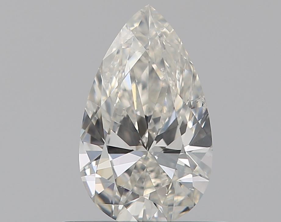 0.50 ct Pear Shape Diamond : H / SI1