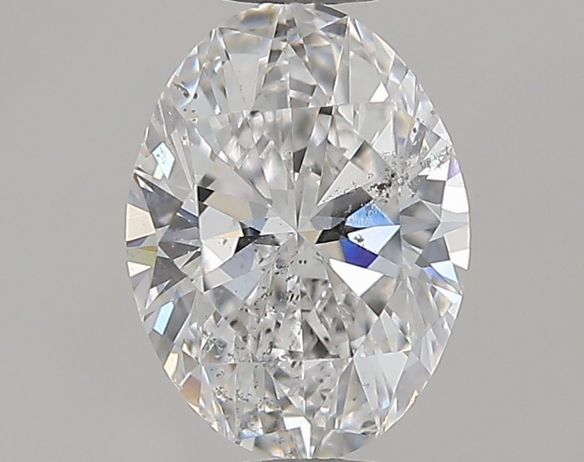 1.00 ct Oval Diamond : E / SI2