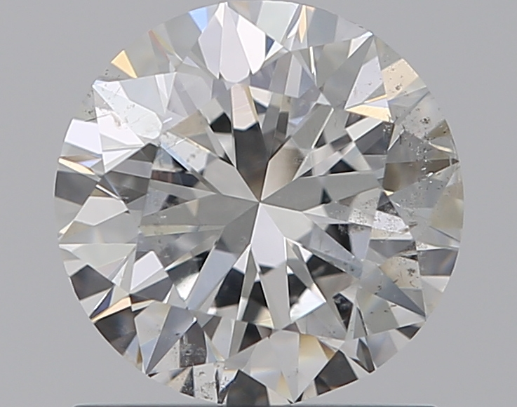 0.90 ct Round Diamond : F / SI2