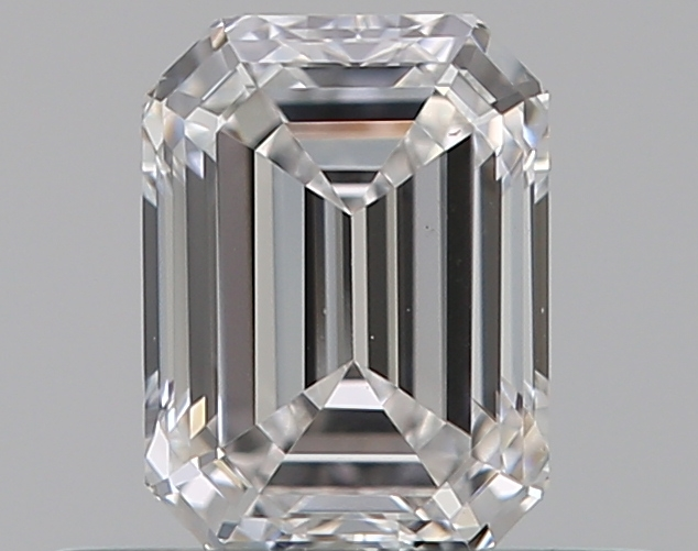 0.46 ct Emerald Cut Diamond : D / VS1