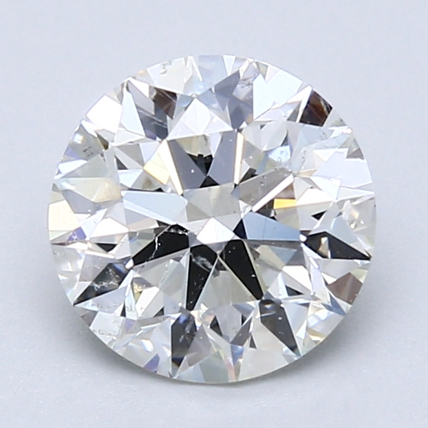 1.85 ct Round Diamond : H / SI1