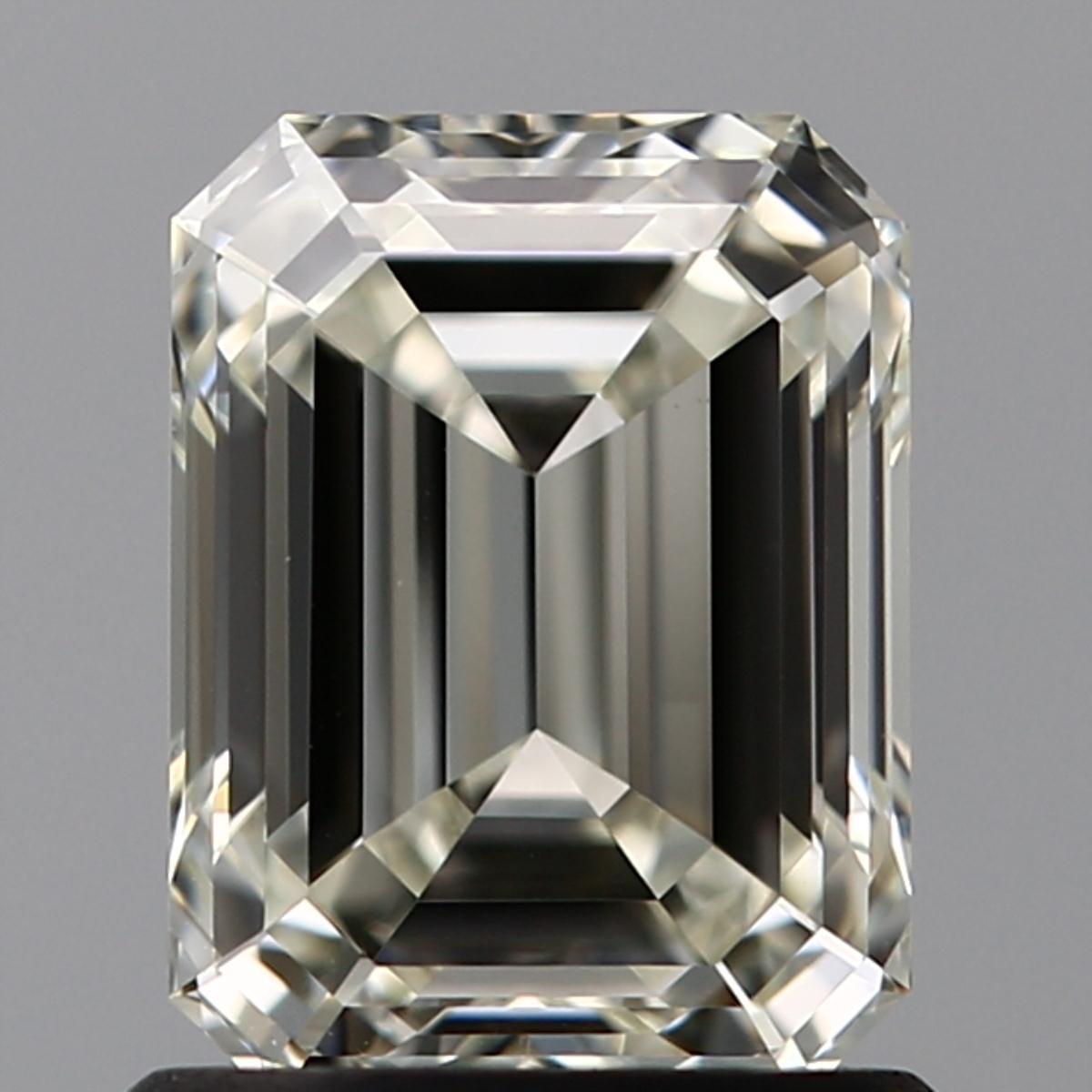 1.21 ct Emerald Cut Diamond : K / VVS2