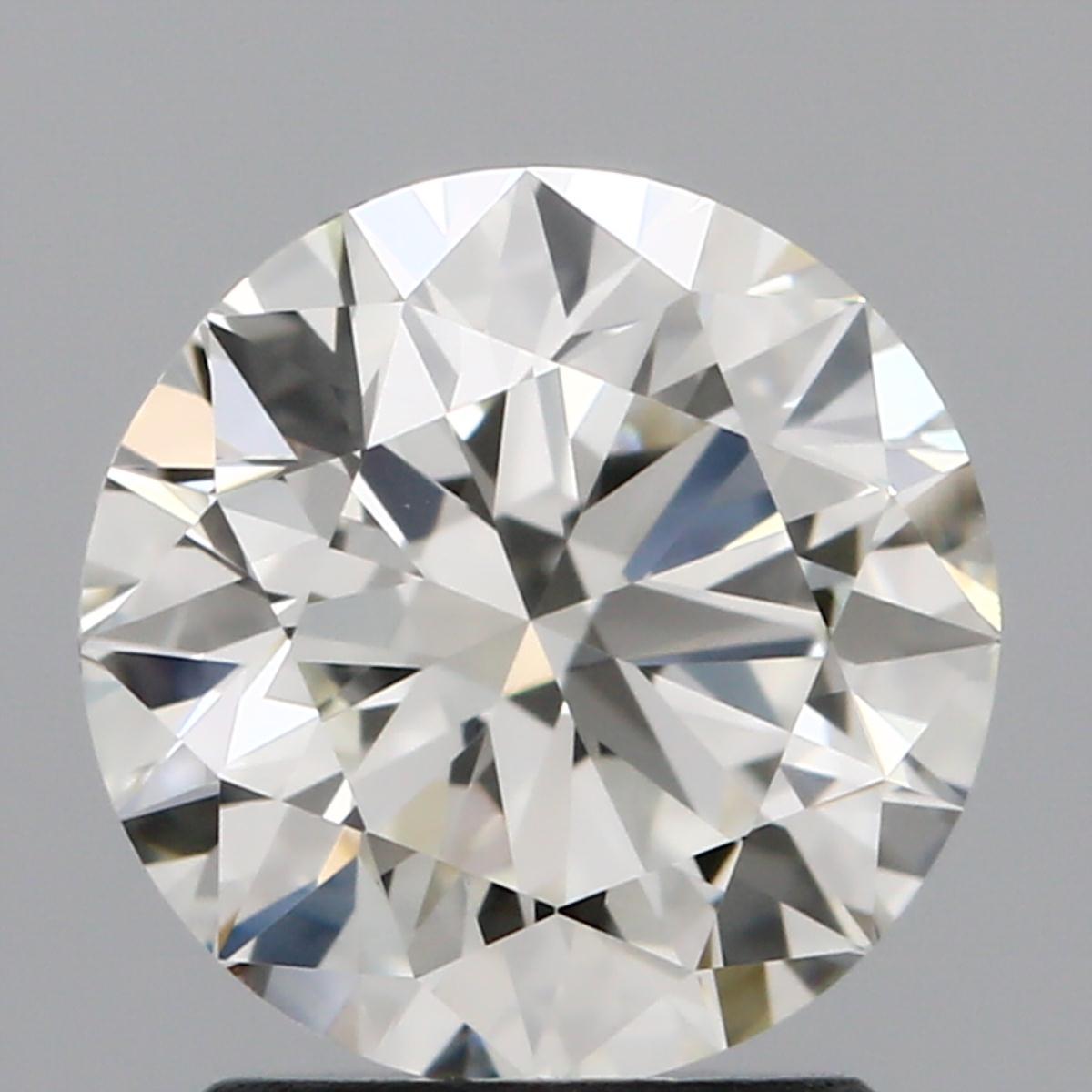 1.71 ct Round Diamond : K / VVS2
