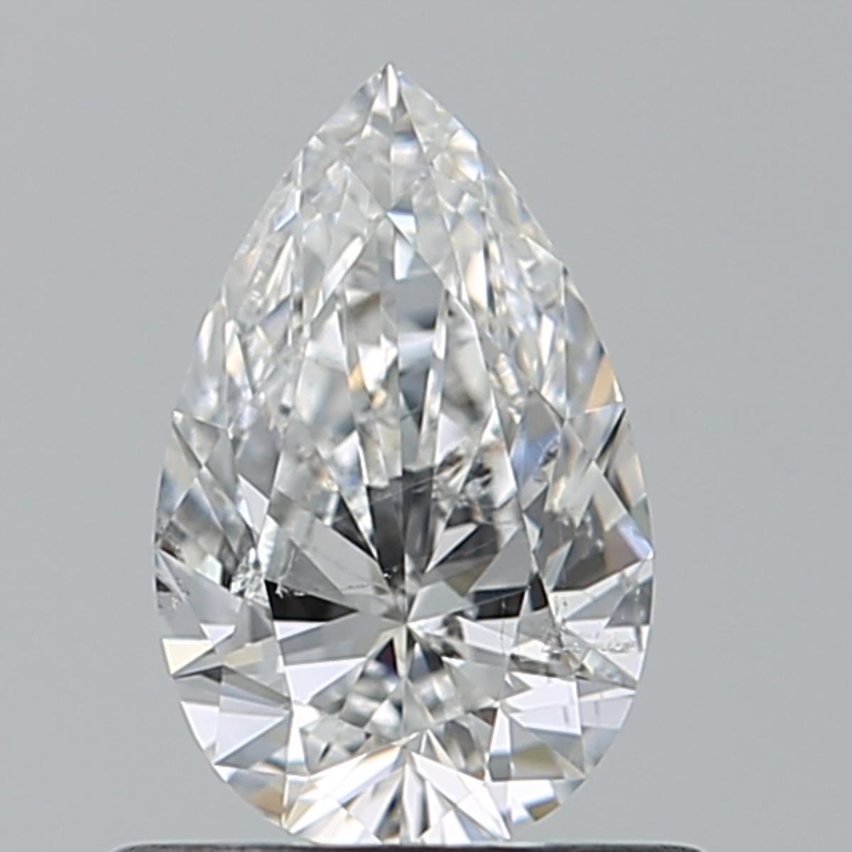 0.55 ct Pear Shape Diamond : F / SI2