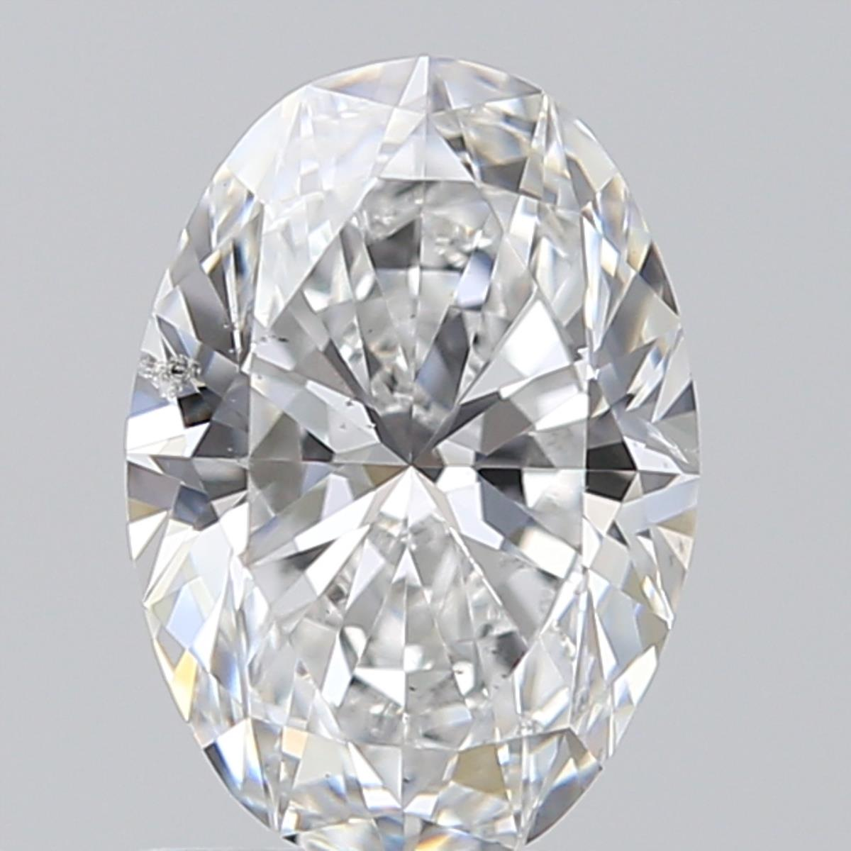 1.09 ct Oval Diamond : E / SI2