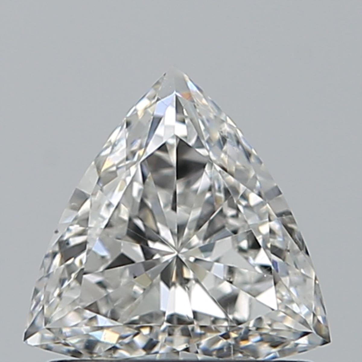 0.56 ct Trillion Diamond : G / SI1