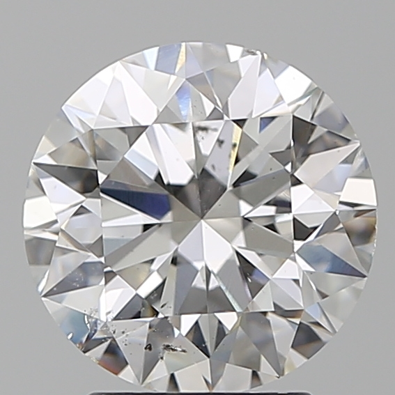 2.60 ct Round Diamond : F / SI1