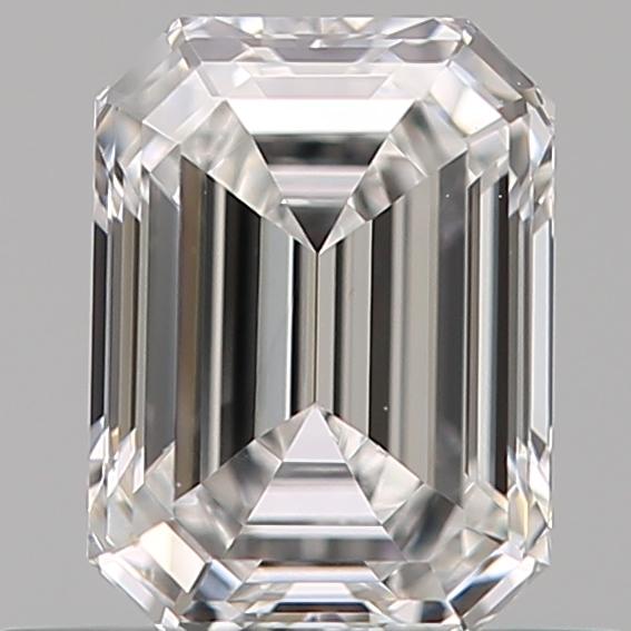 0.51 ct Emerald Cut Diamond : E / SI1