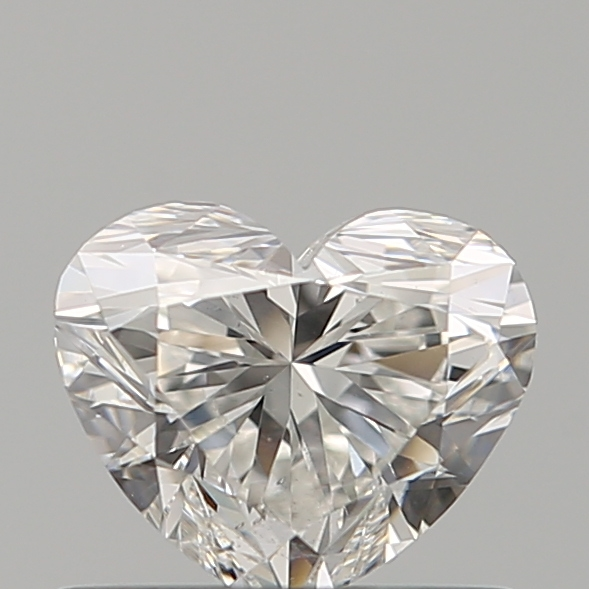 0.56 ct Heart Shape Diamond : G / SI1