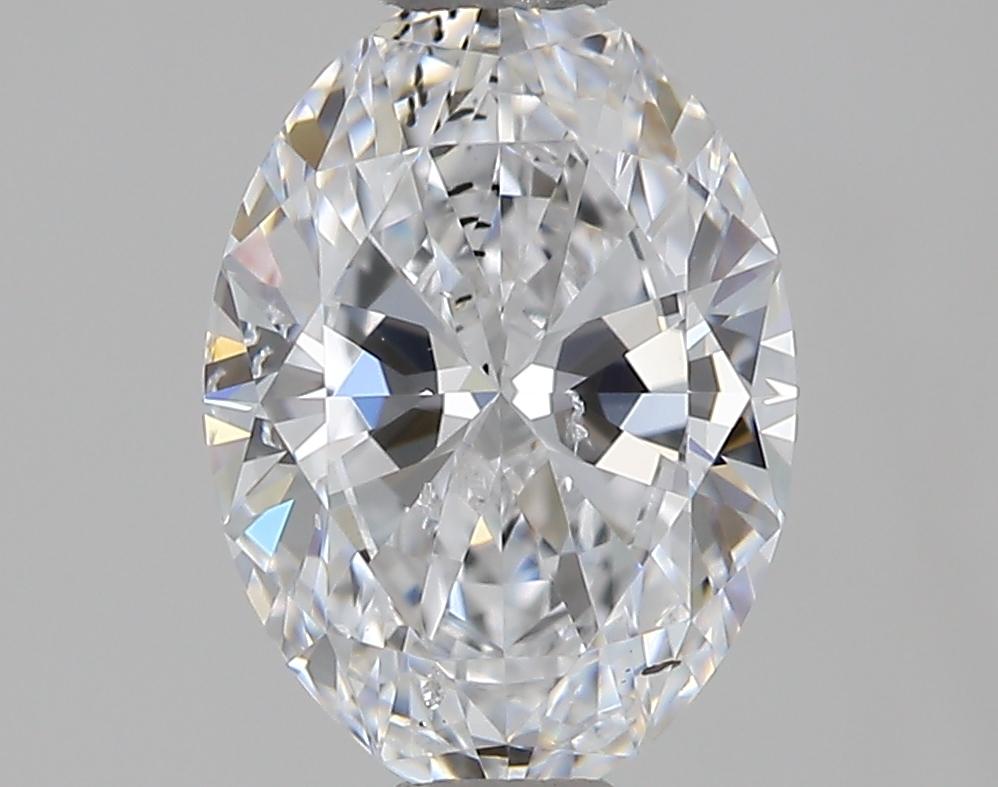 0.90 ct Oval Diamond : D / SI1