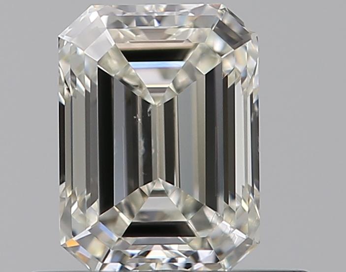 0.50 ct Emerald Cut Diamond : J / SI1