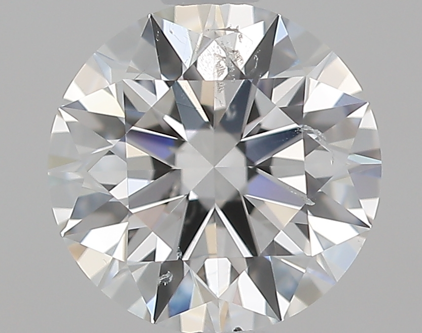 1.09 ct Round Diamond : F / SI2