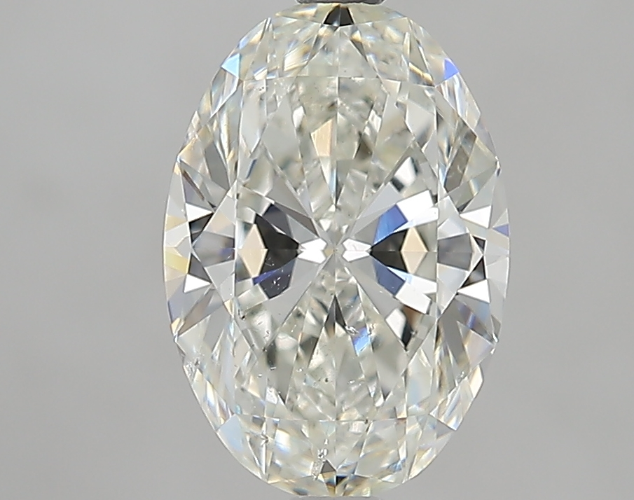 2.01 ct Oval Diamond : I / SI2