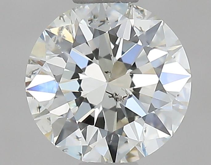 0.61 ct Round Diamond : J / SI2