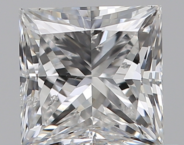 0.50 ct Princess Cut Diamond : F / SI2