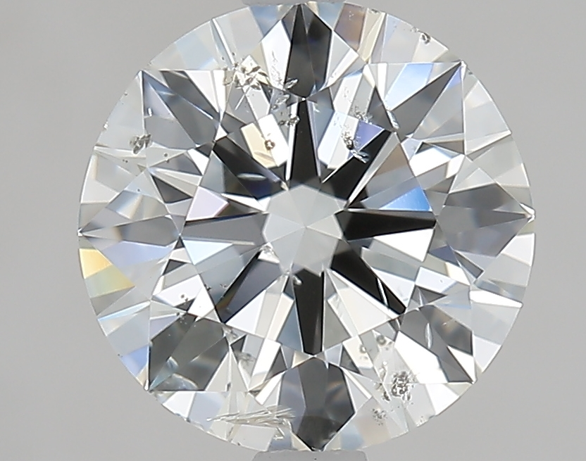 2.50 ct Round Diamond : I / SI2