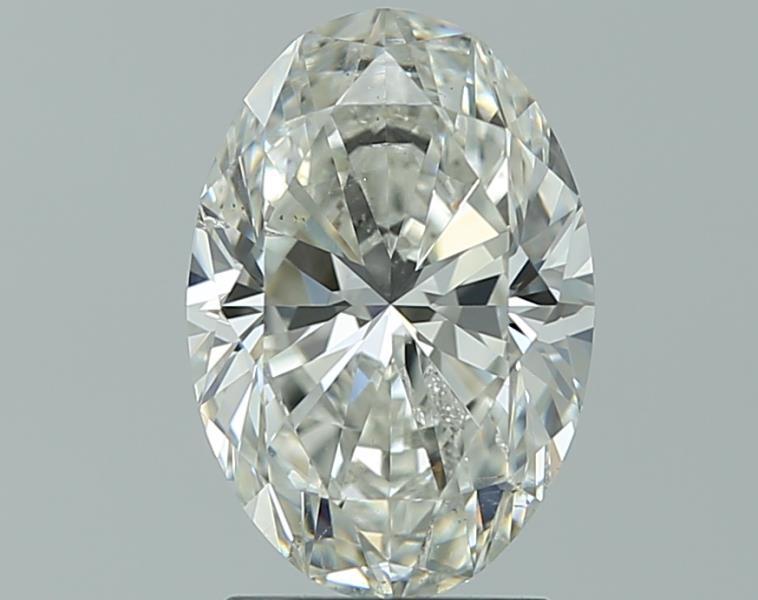 1.81 ct Oval Diamond : H / SI2