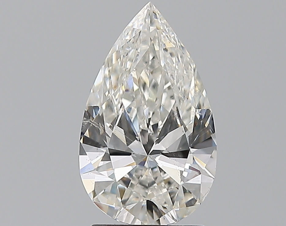 1.53 ct Pear Shape Diamond : G / SI1