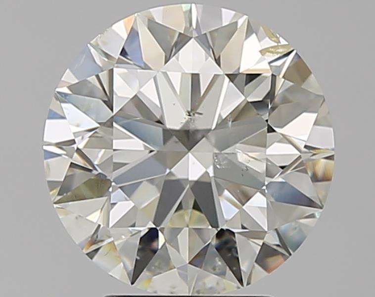 3.01 ct Round Diamond : K / SI2