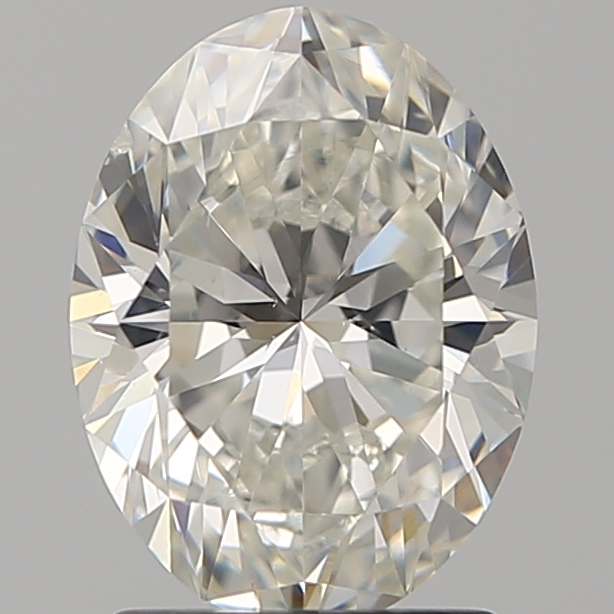 1.60 ct Oval Diamond : I / SI1