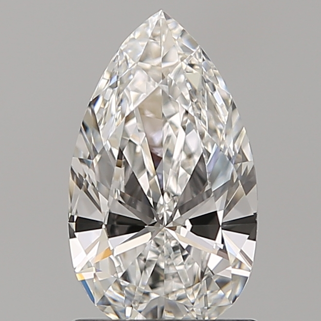 1.00 ct Pear Shape Diamond : F / VS1