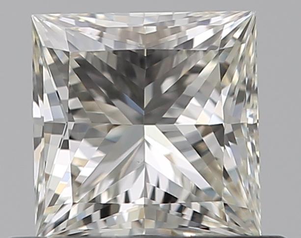 0.51 ct Princess Cut Diamond : K / VVS2