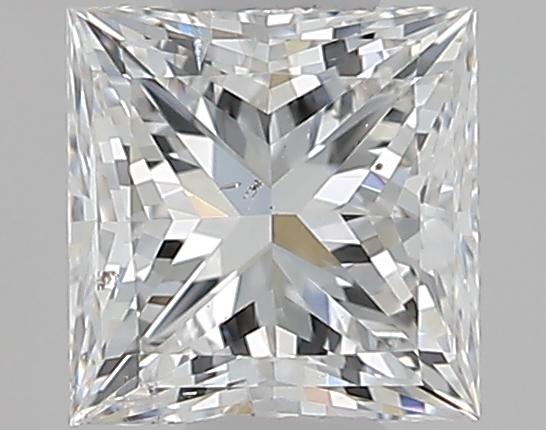 0.50 ct Princess Cut Diamond : F / SI2