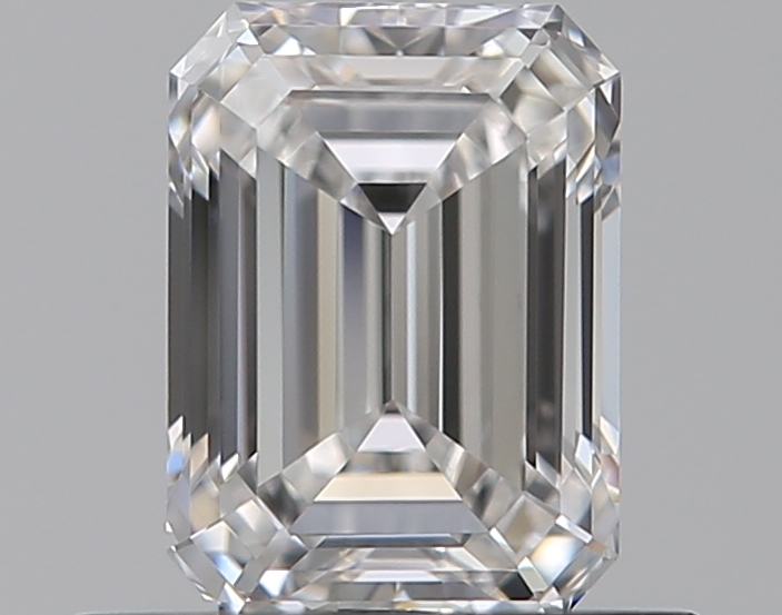 0.50 ct Emerald Cut Diamond : E / VVS1