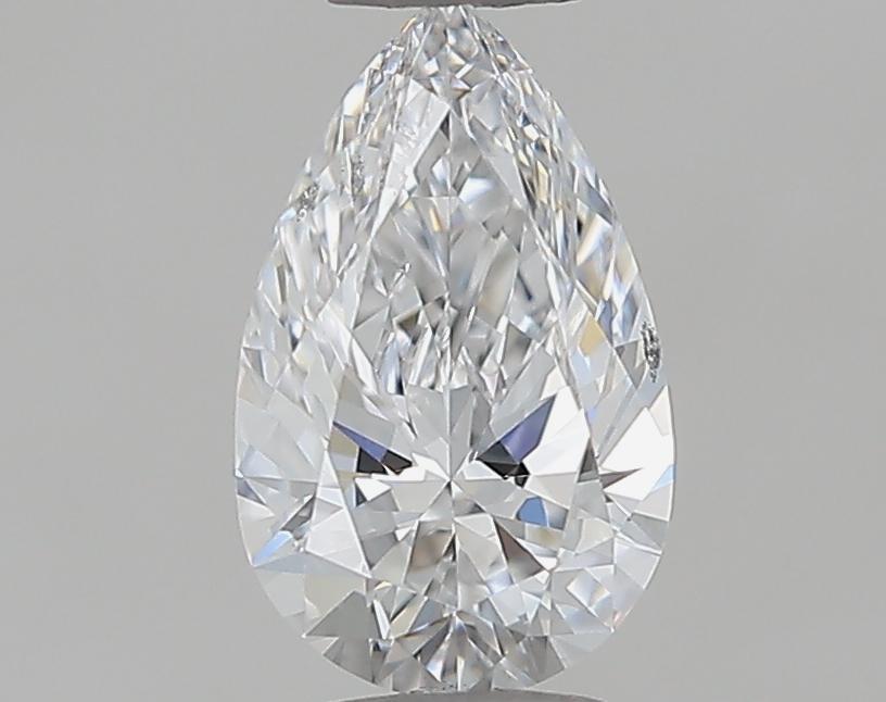 0.53 ct Pear Shape Diamond : D / SI1