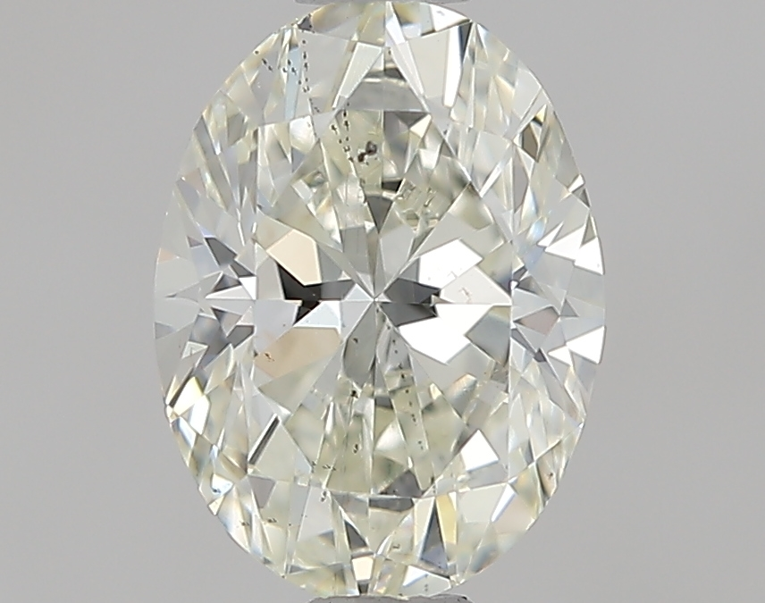 0.64 ct Oval Diamond : K / SI1