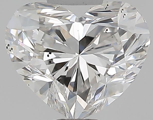 0.50 ct Heart Shape Diamond : G / SI1