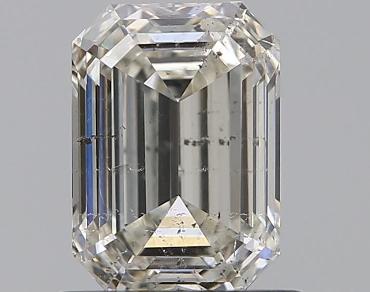0.91 ct Emerald Cut Diamond : K / SI2