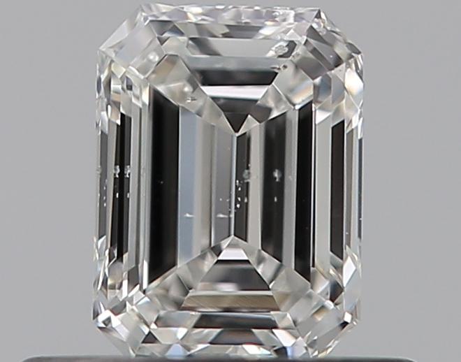 0.40 ct Emerald Cut Diamond : F / SI1