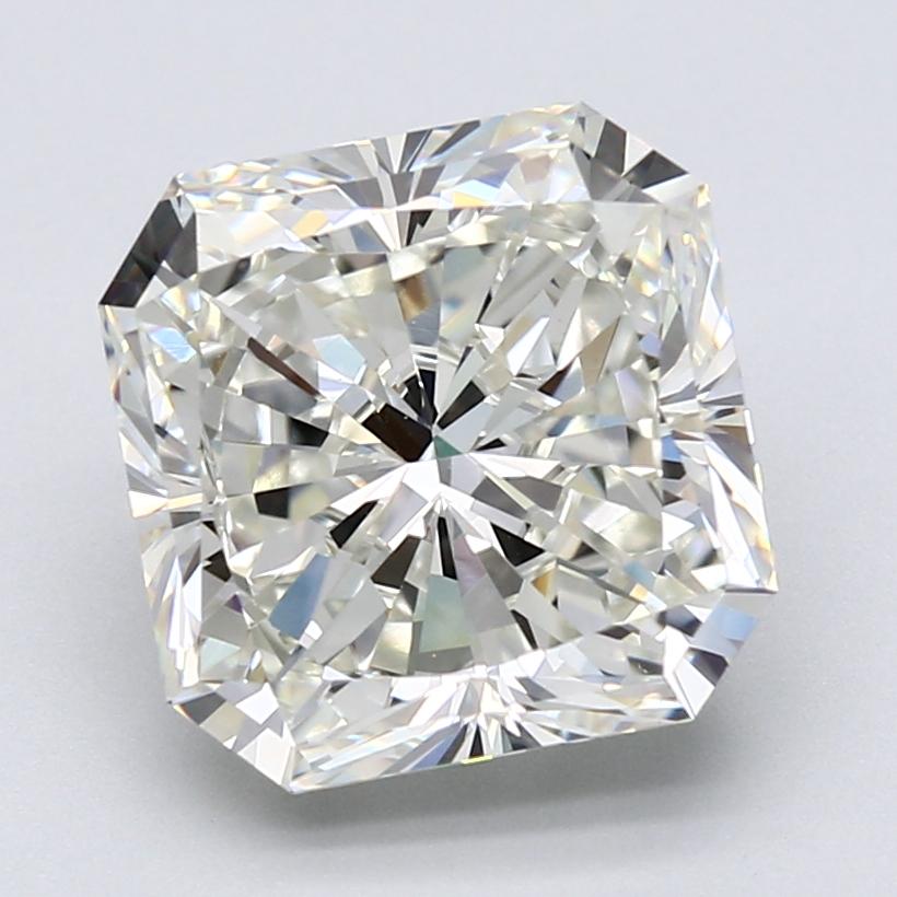 5.02 ct Radiant Diamond : J / VS1