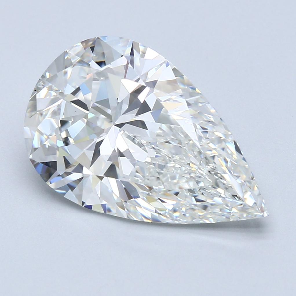 5.03 ct Pear Shape Diamond : G / VS1