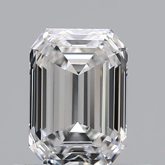 0.51 ct Emerald Cut Diamond : E / VVS1