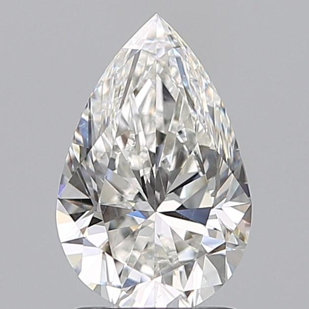 1.51 ct Pear Shape Diamond : G / SI1