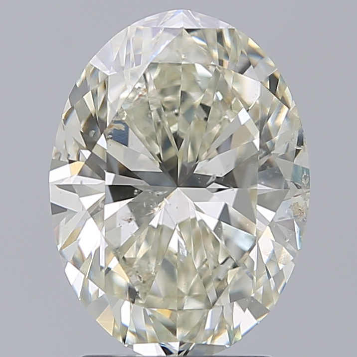 2.02 ct Oval Diamond : K / SI2