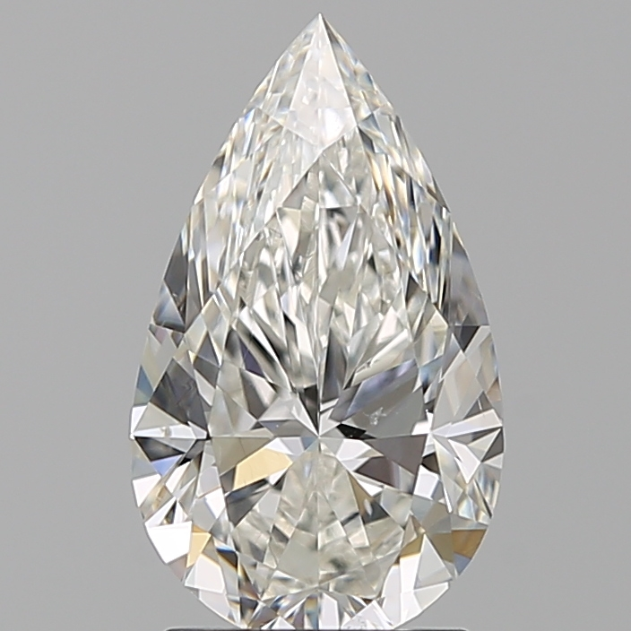 1.81 ct Pear Shape Diamond : H / SI1