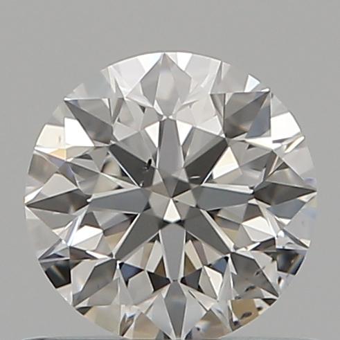 0.53 ct Round Diamond : F / SI1