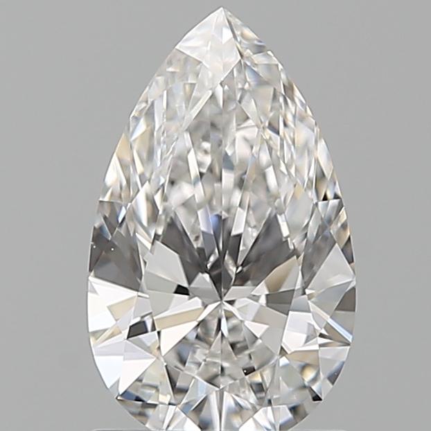1.01 ct Pear Shape Diamond : F / VS1