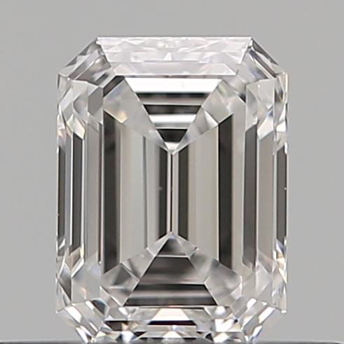 0.40 ct Emerald Cut Diamond : D / VS1