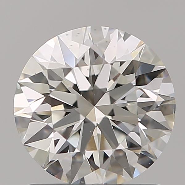 1.05 ct Round Diamond : H / SI1