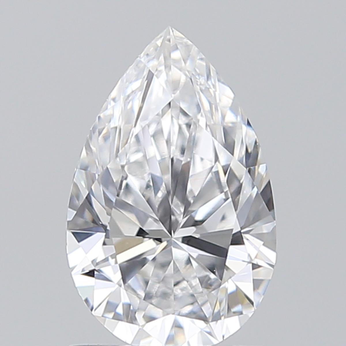 0.96 ct Pear Shape Diamond : D / VS1