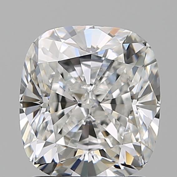 1.71 ct Cushion Cut Diamond : E / VS1