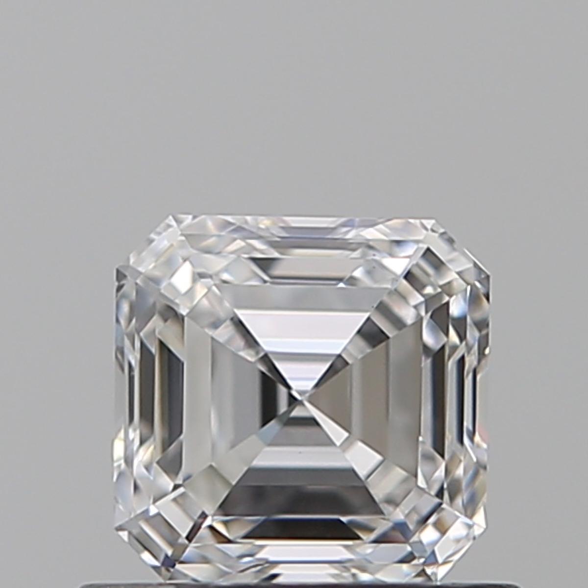 0.57 ct Asscher Cut Diamond : D / SI1