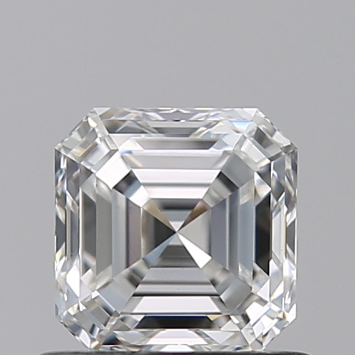 0.80 ct Asscher Cut Diamond : F / VS1
