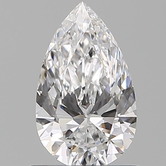 0.72 ct Pear Shape Diamond : D / SI1
